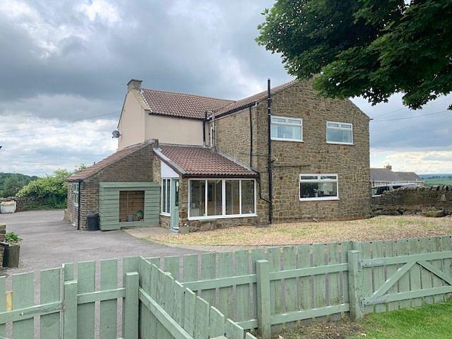 4 bedroom detached house Sale Agreed in Crook - Rear Elevation.