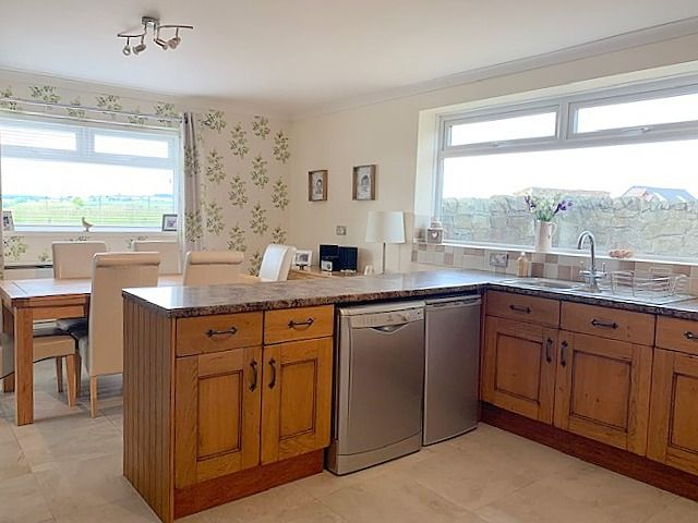 4 bedroom detached house Sale Agreed in Crook - Dining Kitchen.