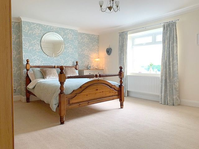 4 bedroom detached house Sale Agreed in Crook - Master Bedroom.