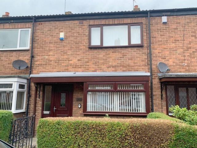 2 bedroom mid terraced house SSTC in Bishop Auckland - Front Elevation.