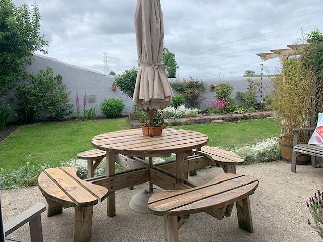 5 bedroom detached house For Sale in Witton Park, Bishop Auckland - Rear Garden.