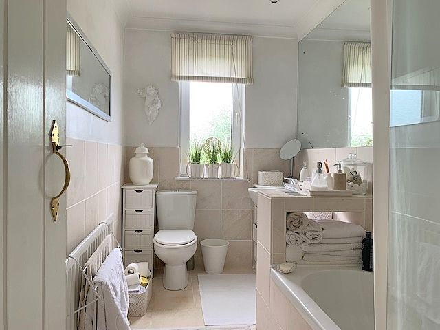 5 bedroom detached house For Sale in Witton Park, Bishop Auckland - Family Bathroom.