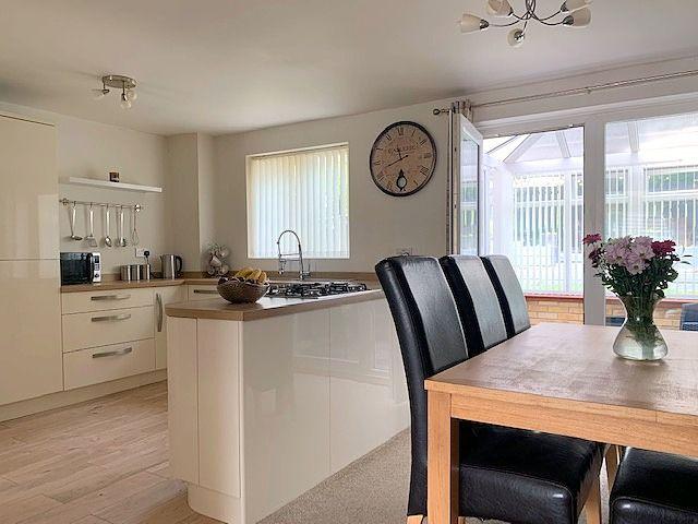 3 bedroom detached house For Sale in Heighington Village - Kitchen Diner.