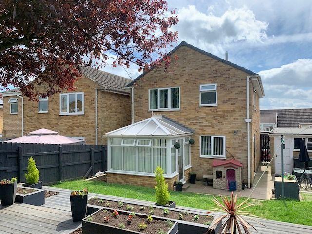 3 bedroom detached house For Sale in Heighington Village - Rear Elevation.