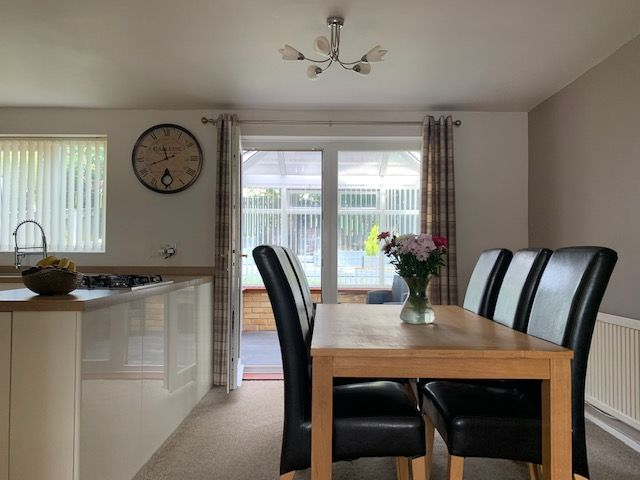 3 bedroom detached house For Sale in Heighington Village - Dining Area.