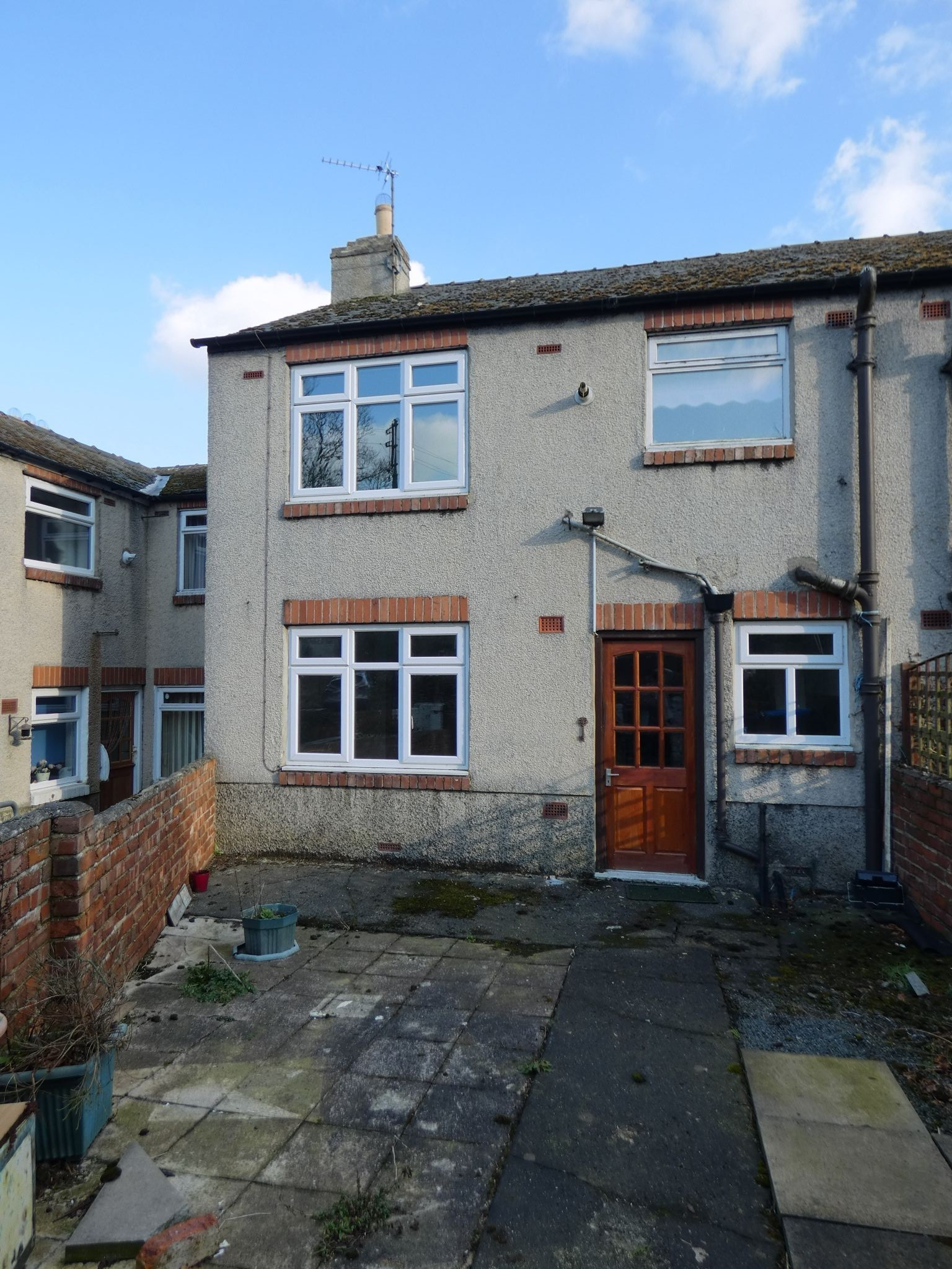 2 bedroom mid terraced house For Sale in Bishop Auckland - Rear Elevation.
