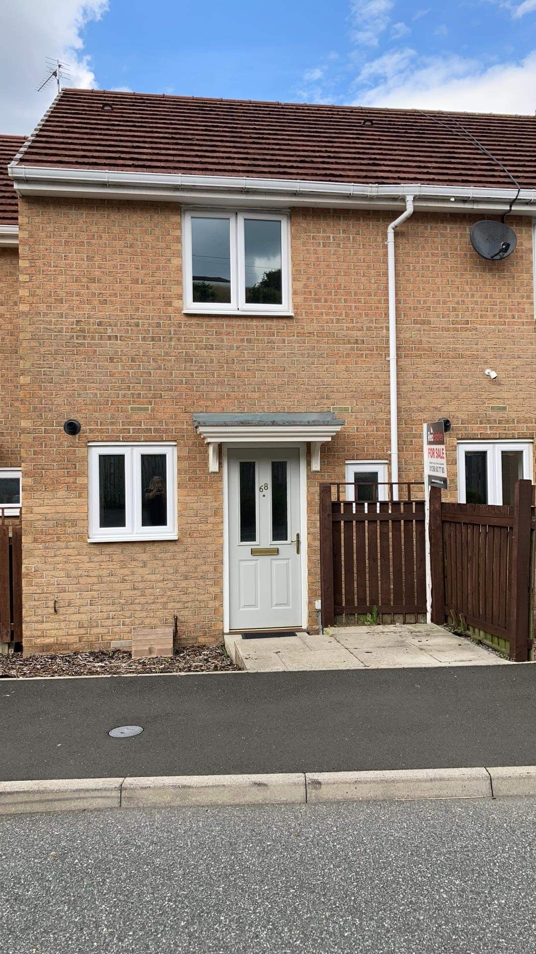 2 bedroom mid terraced house Sale Agreed in Langley Park - Photograph 1.