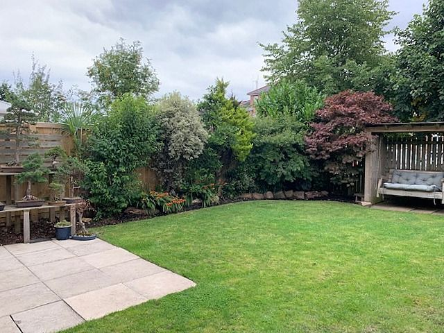 4 bedroom detached house For Sale in Bishop Auckland - Rear Garden.