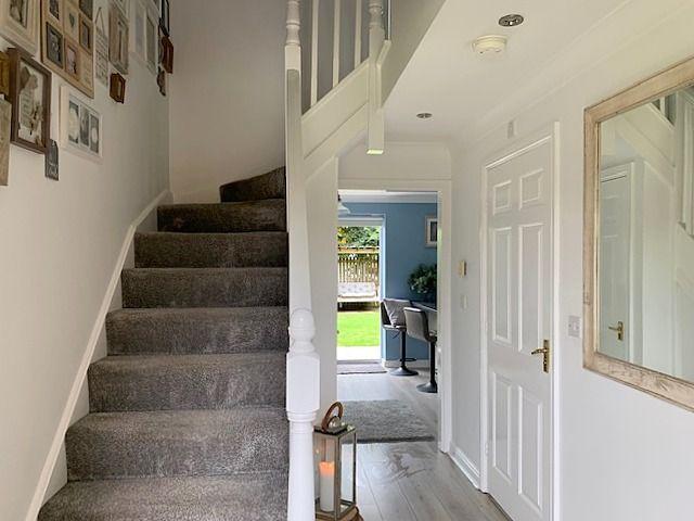 4 bedroom detached house For Sale in Bishop Auckland - Entrance Hallway.