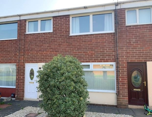 3 bedroom semi-detached house Sale Agreed in Shildon - Front Elevation.