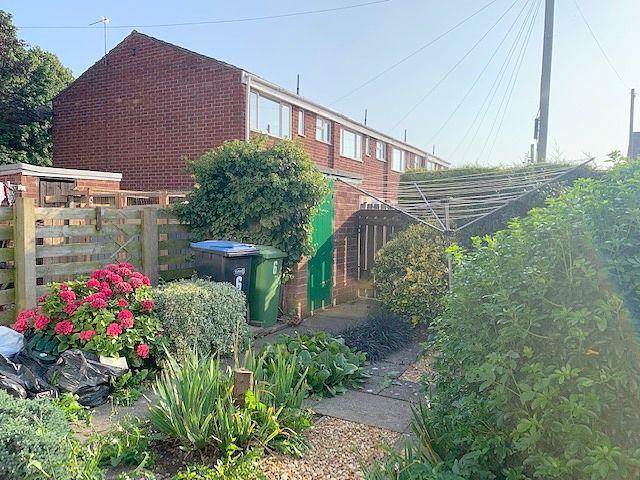3 bedroom semi-detached house Sale Agreed in Shildon - Rear Garden.
