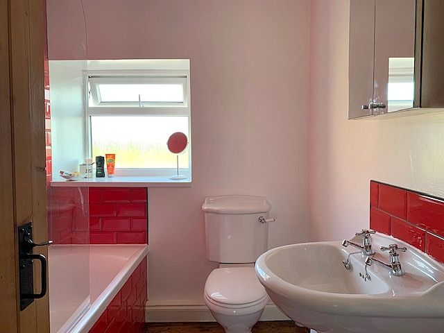3 bedroom end terraced house Sale Agreed in Butterknowle, Bishop Auckland - Family Bathroom.