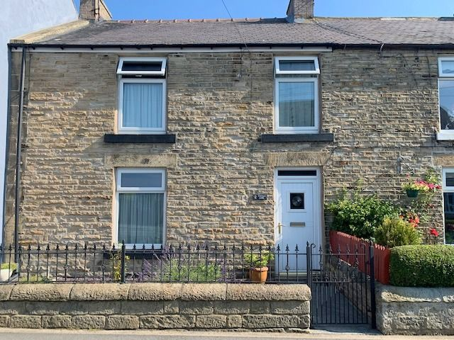 3 bedroom end terraced house Sale Agreed in Butterknowle, Bishop Auckland - Front Elevation.