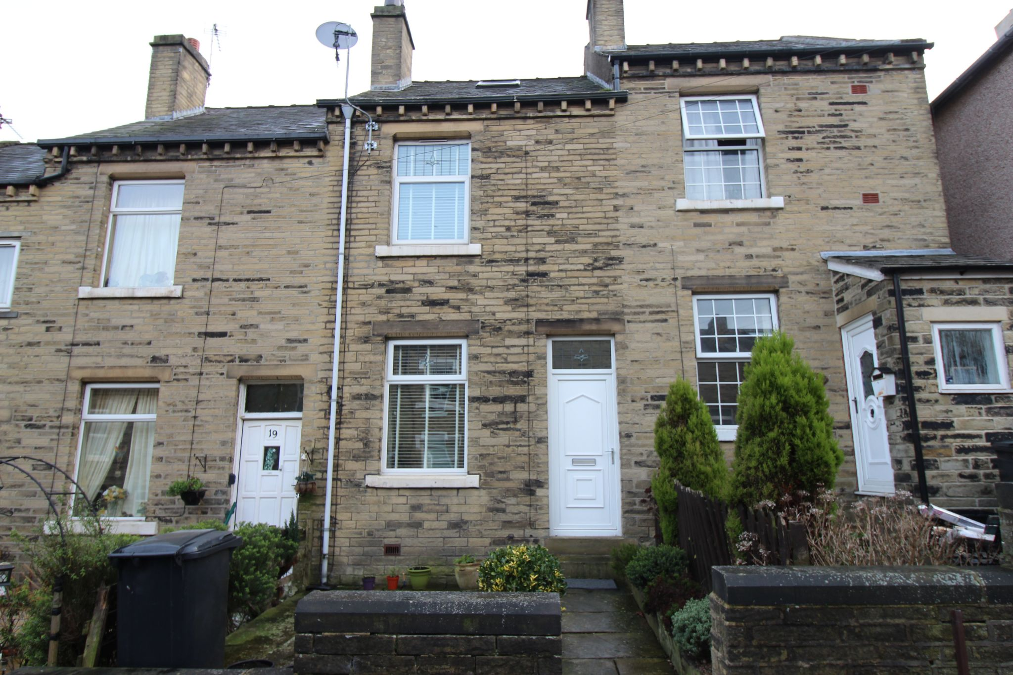 2 bedroom mid terraced house Sold in Brighouse - Outside front elevation