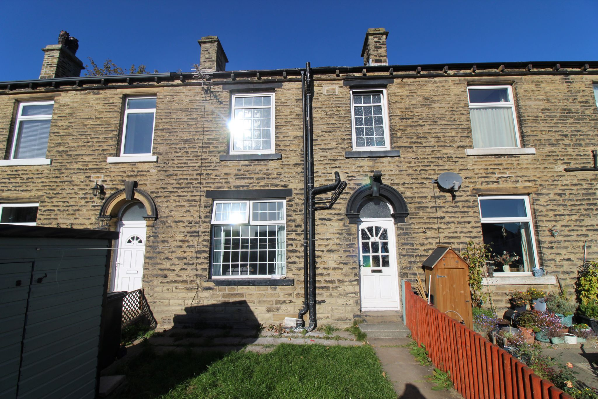 2 bedroom mid terraced house SSTC in Halifax - Front aspect