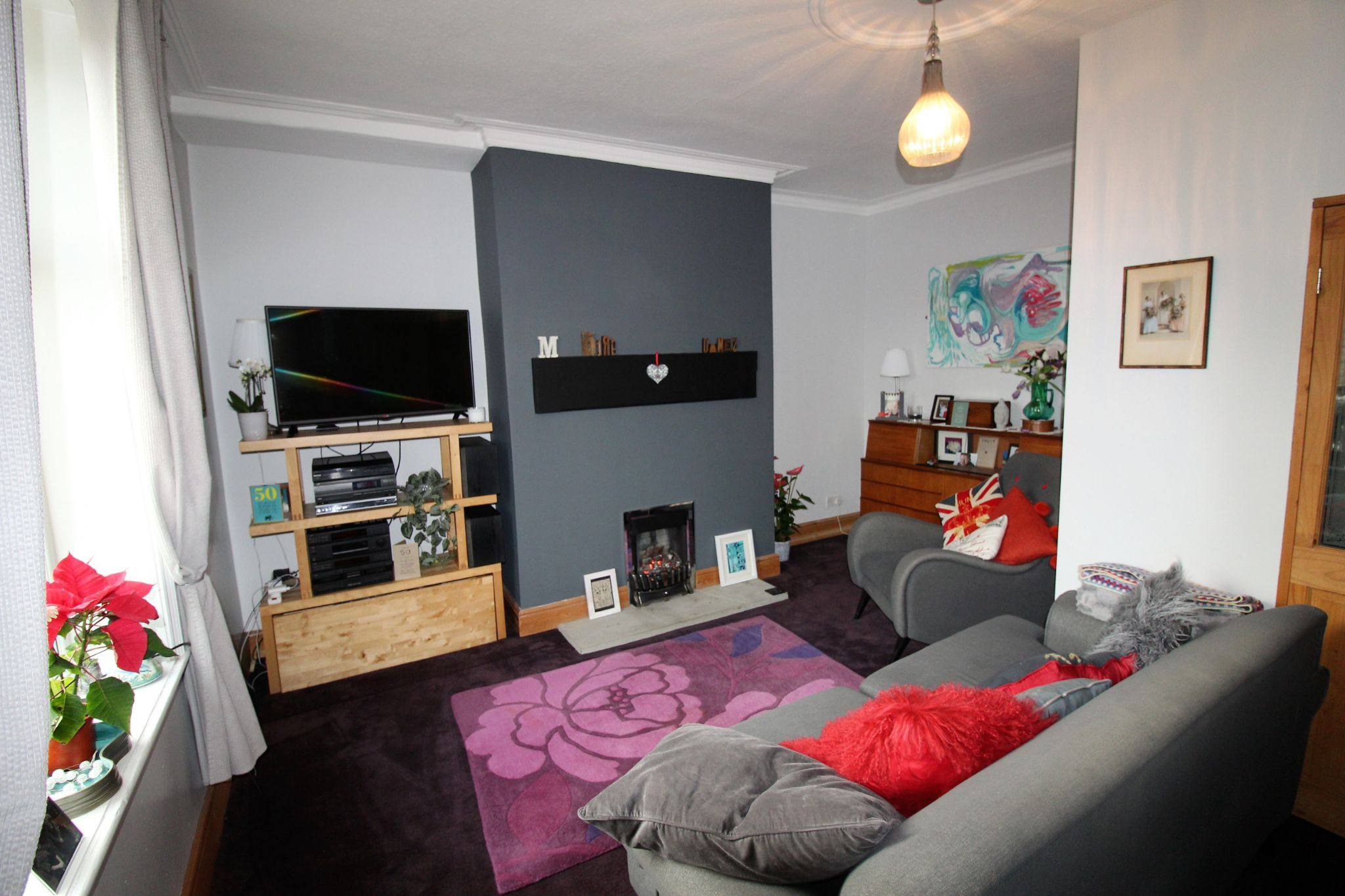 2 bedroom mid terraced house SSTC in Halifax - Lounge - picture 2