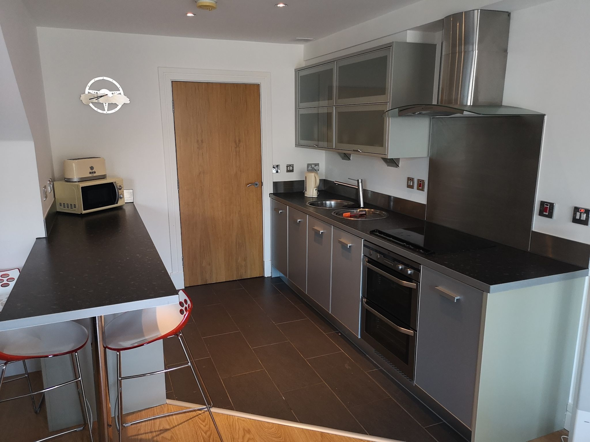 2 bedroom apartment flat/apartment Let in Huddersfield - Dining Kitchen