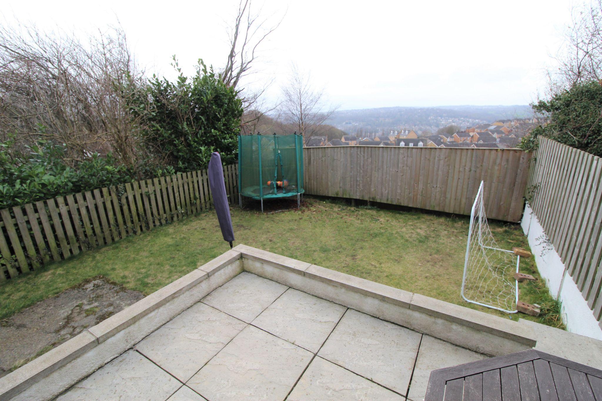 3 bedroom semi-detached house SSTC in Shipley - Rear garden