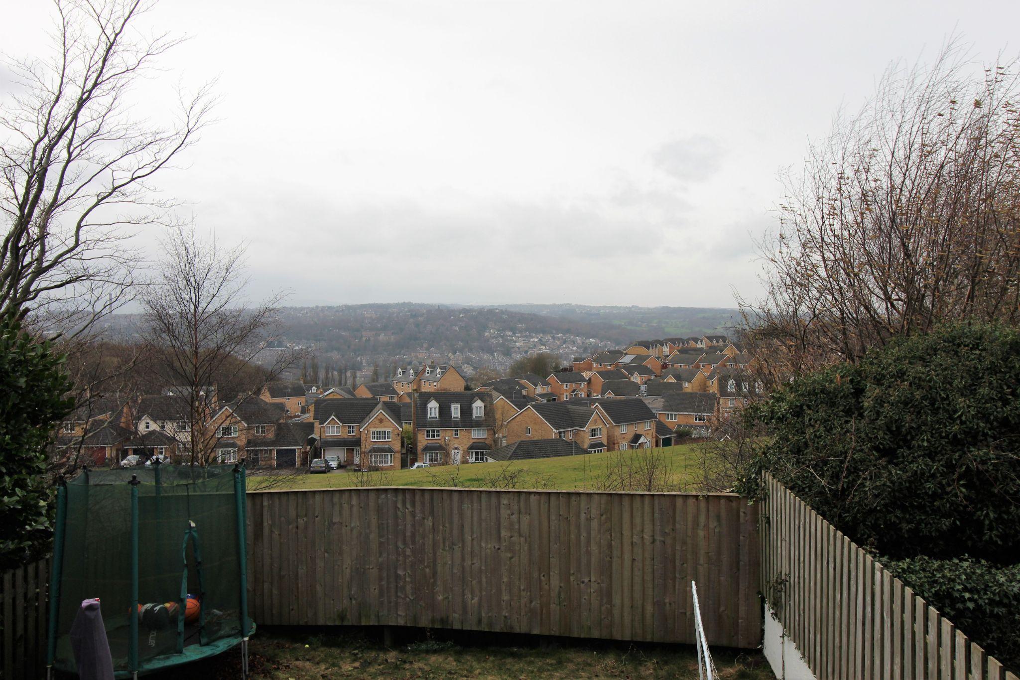 3 bedroom semi-detached house SSTC in Shipley - View from rear garden