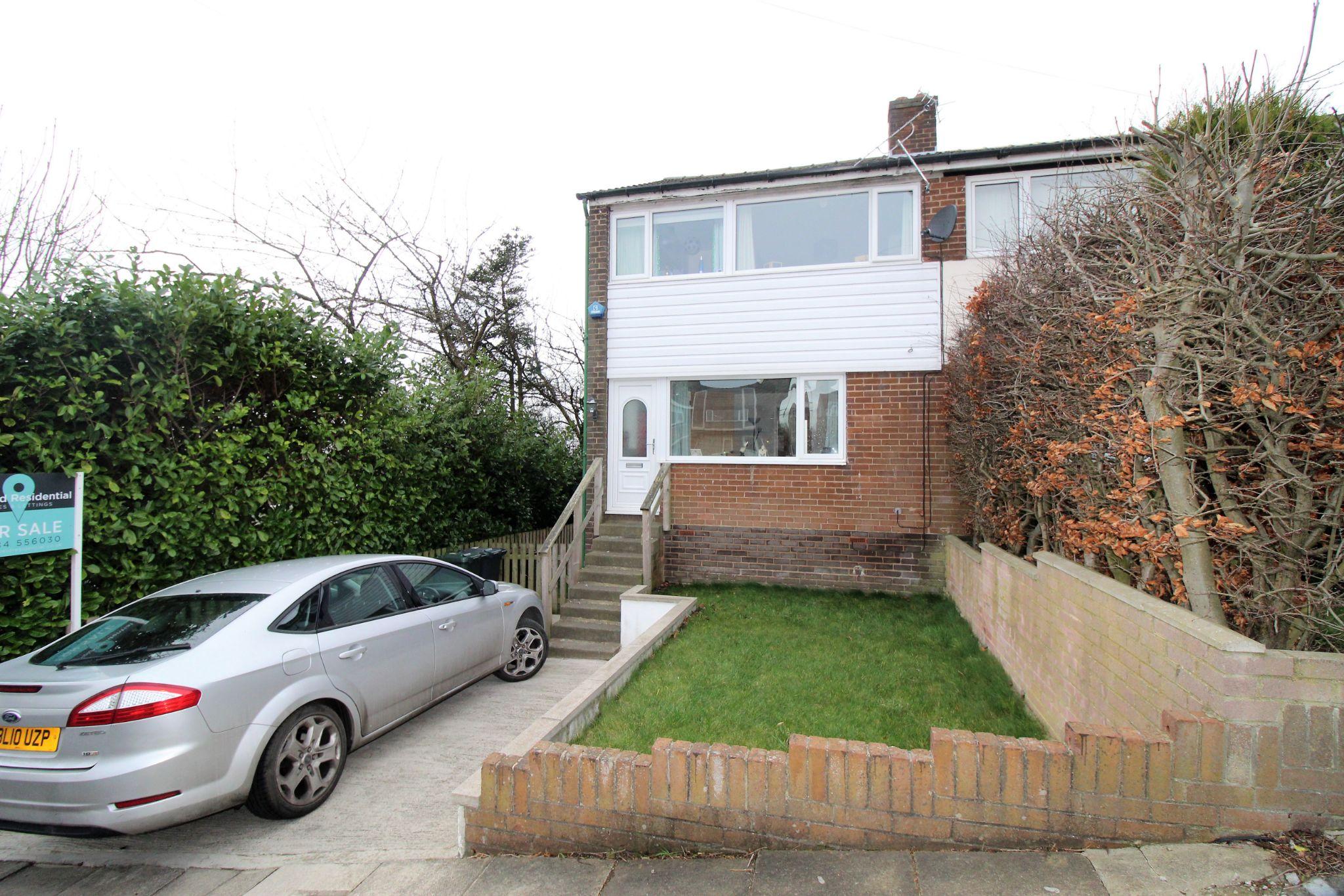 3 bedroom semi-detached house SSTC in Shipley - Front elevation