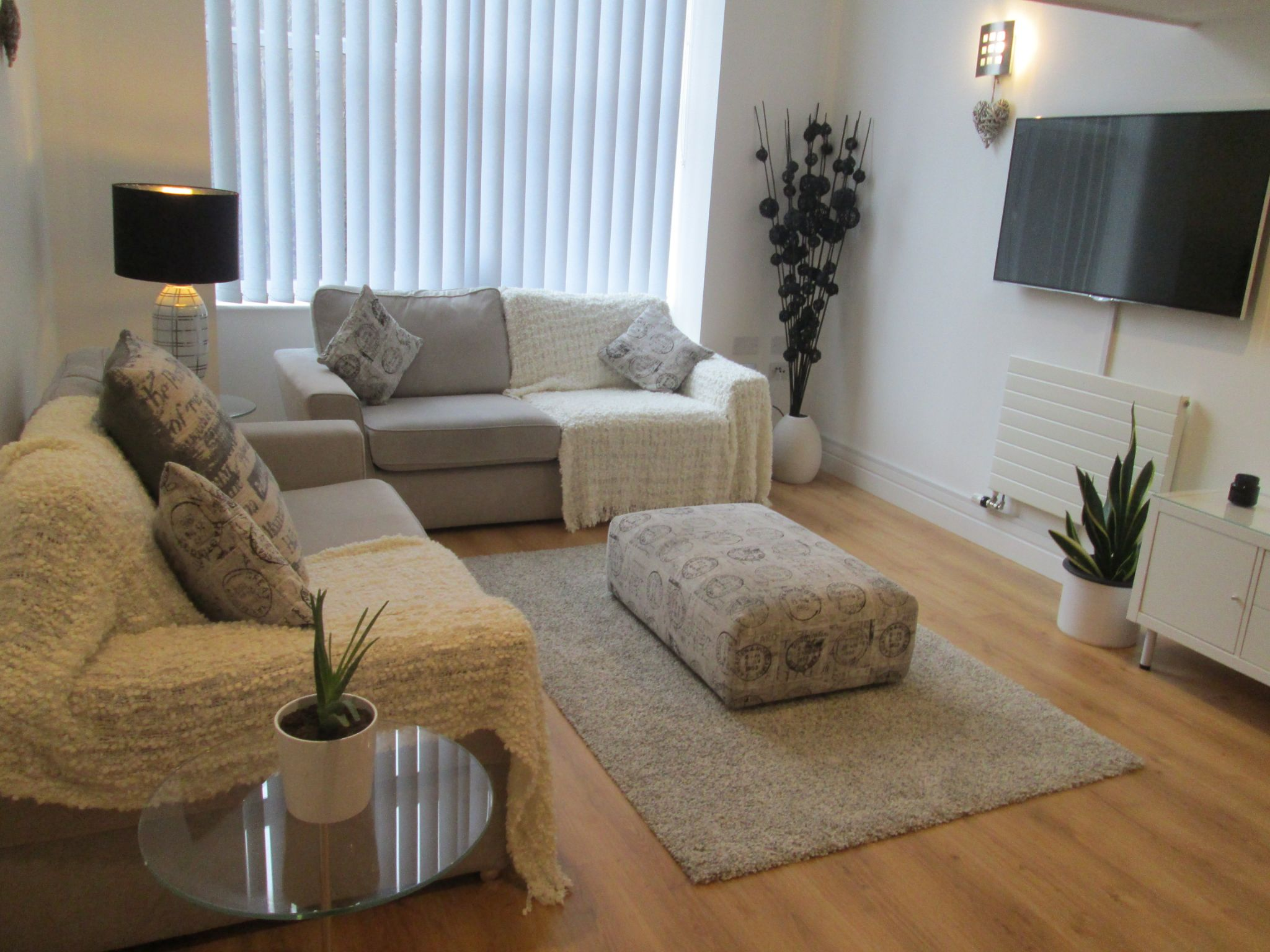 1 bedroom apartment flat/apartment Let in Huddersfield - Lounge area