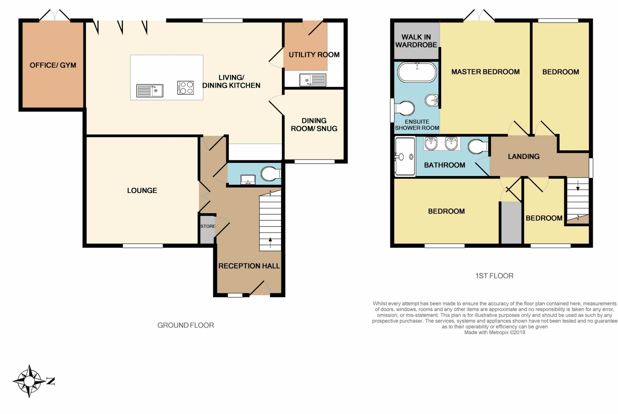 4 bedroom detached house For Sale in Brighouse - Floorplan 2