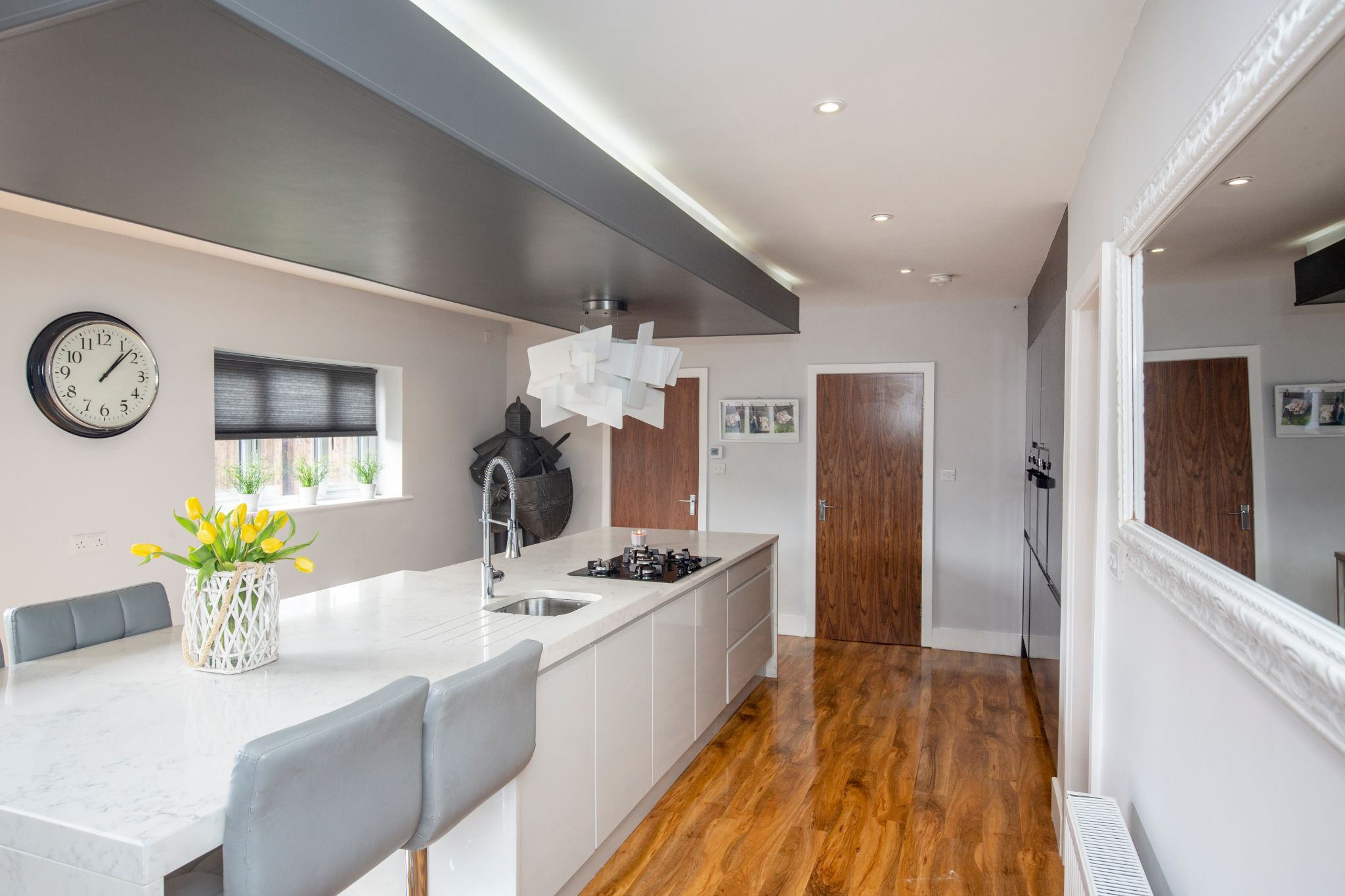 4 bedroom detached house For Sale in Brighouse - Kitchen area of dining kitchen