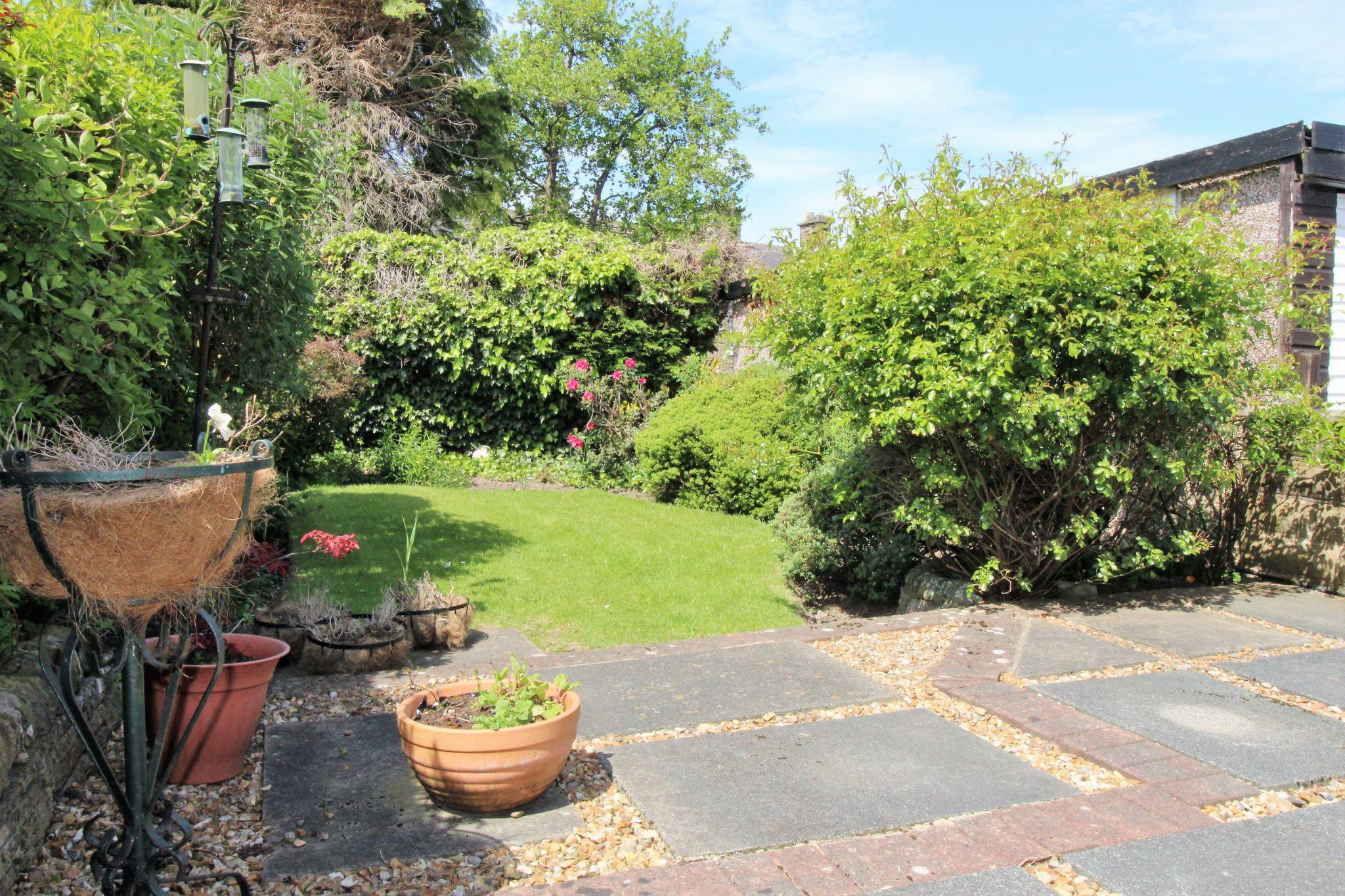2 bedroom semi-detached bungalow SSTC in Bradford - Rear garden