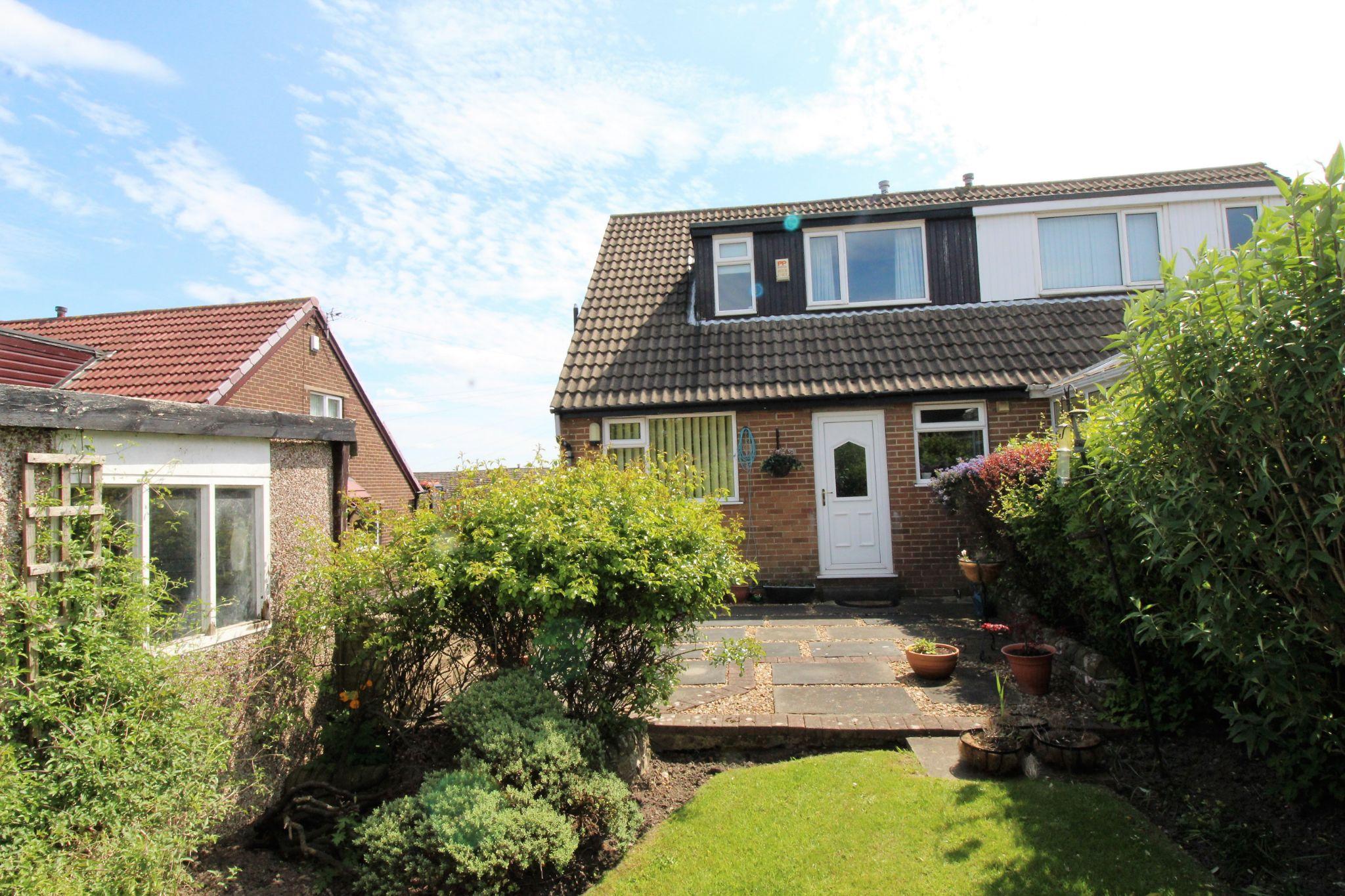 2 bedroom semi-detached bungalow SSTC in Bradford - Rear aspect