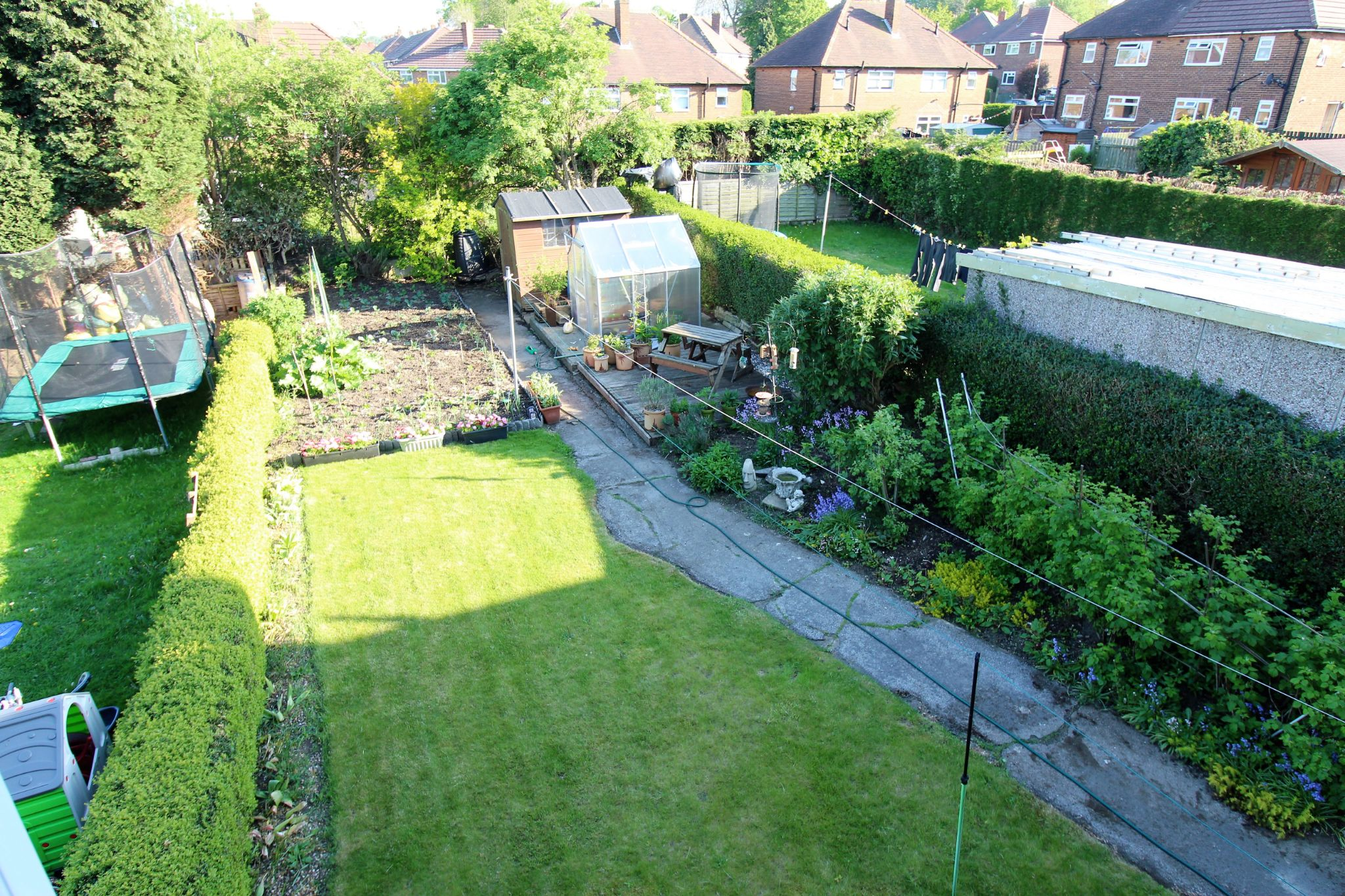 3 bedroom semi-detached house SSTC in Brighouse - Garden view from bedroom 1