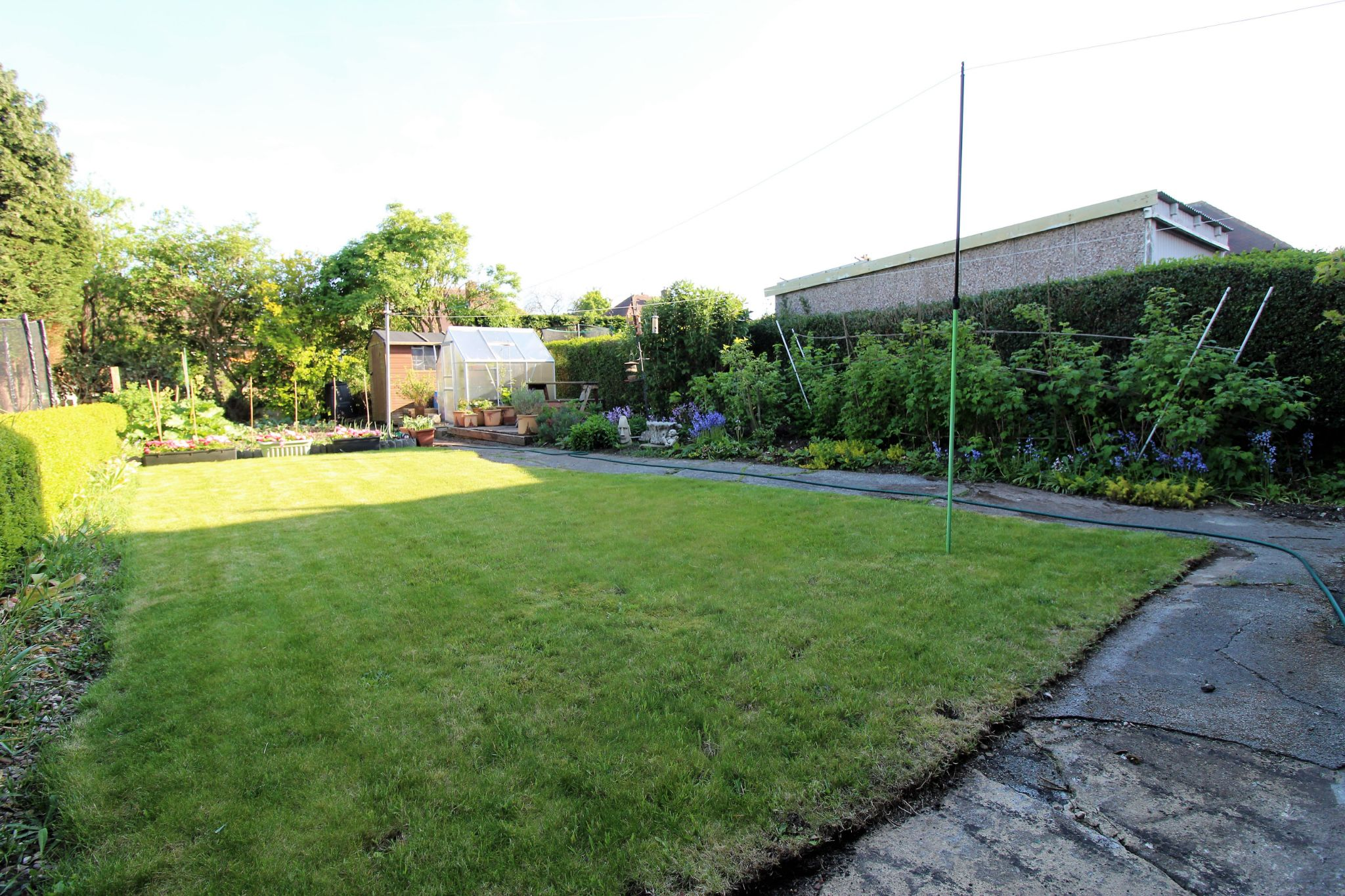 3 bedroom semi-detached house SSTC in Brighouse - Rear garden