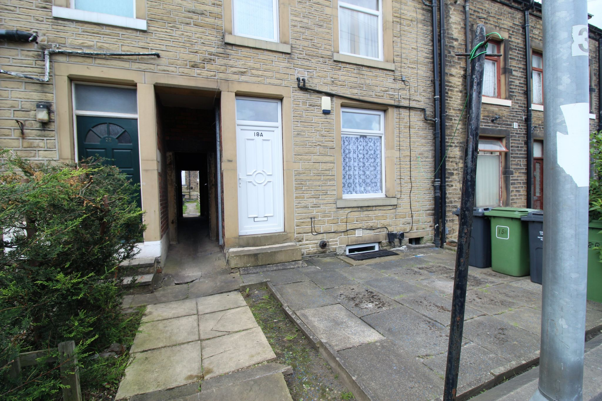 1 bedroom maisonette flat/apartment To Let in Huddersfield - Front elevation
