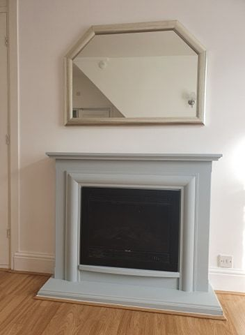 1 bedroom maisonette flat/apartment To Let in Huddersfield - Fire place