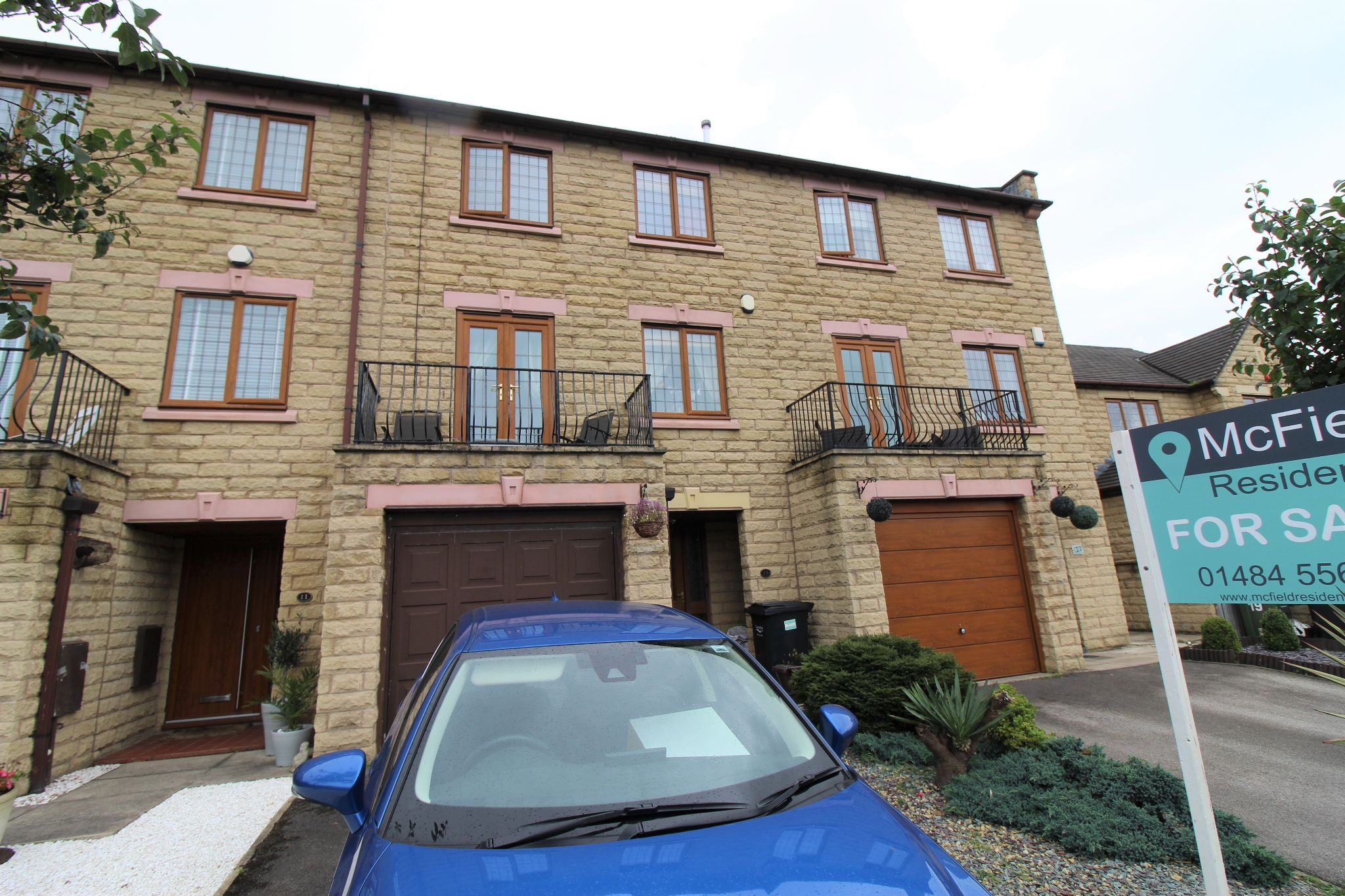3 bedroom mid terraced house For Sale in Brighouse - Front aspect