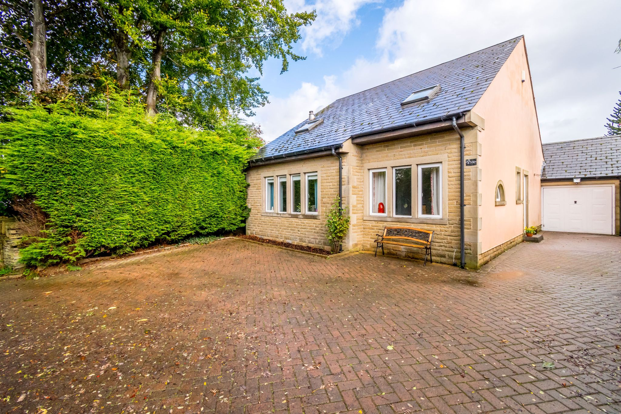 5 bedroom detached house For Sale in Brighouse - Front aspect