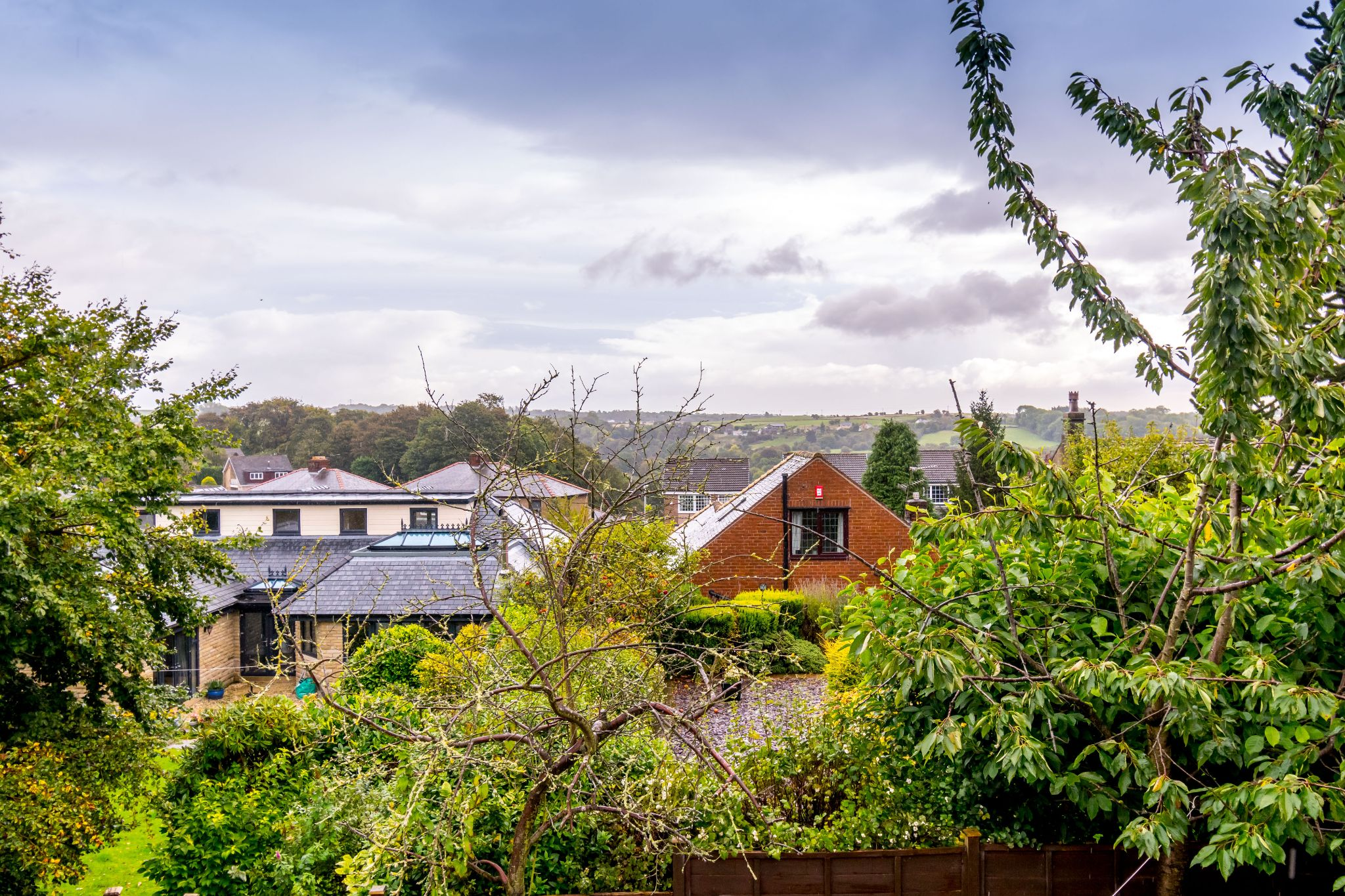 5 bedroom detached house For Sale in Brighouse - View from the rear garden