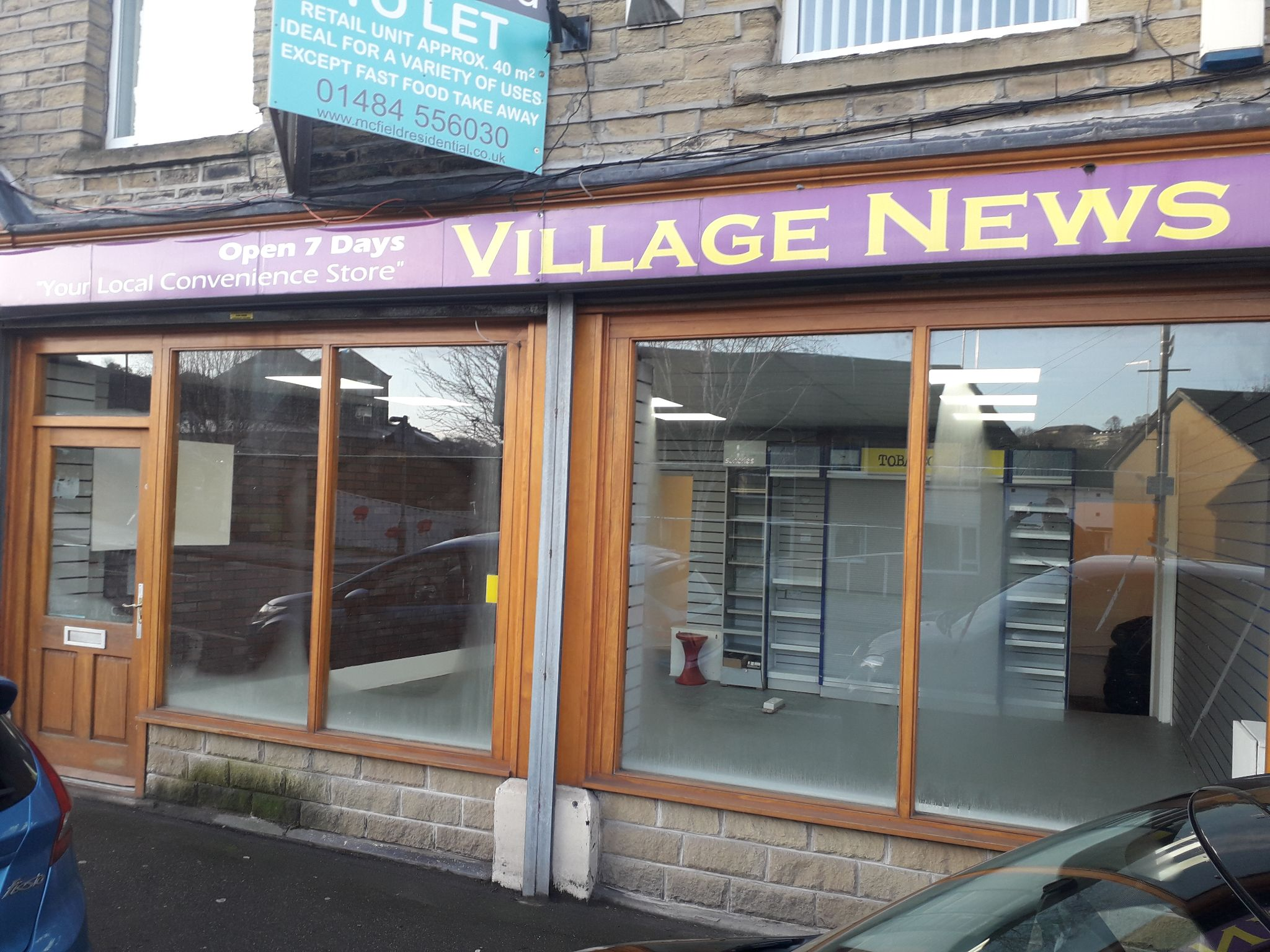 Empty Retail Premises To Let in Huddersfield - Front Facade