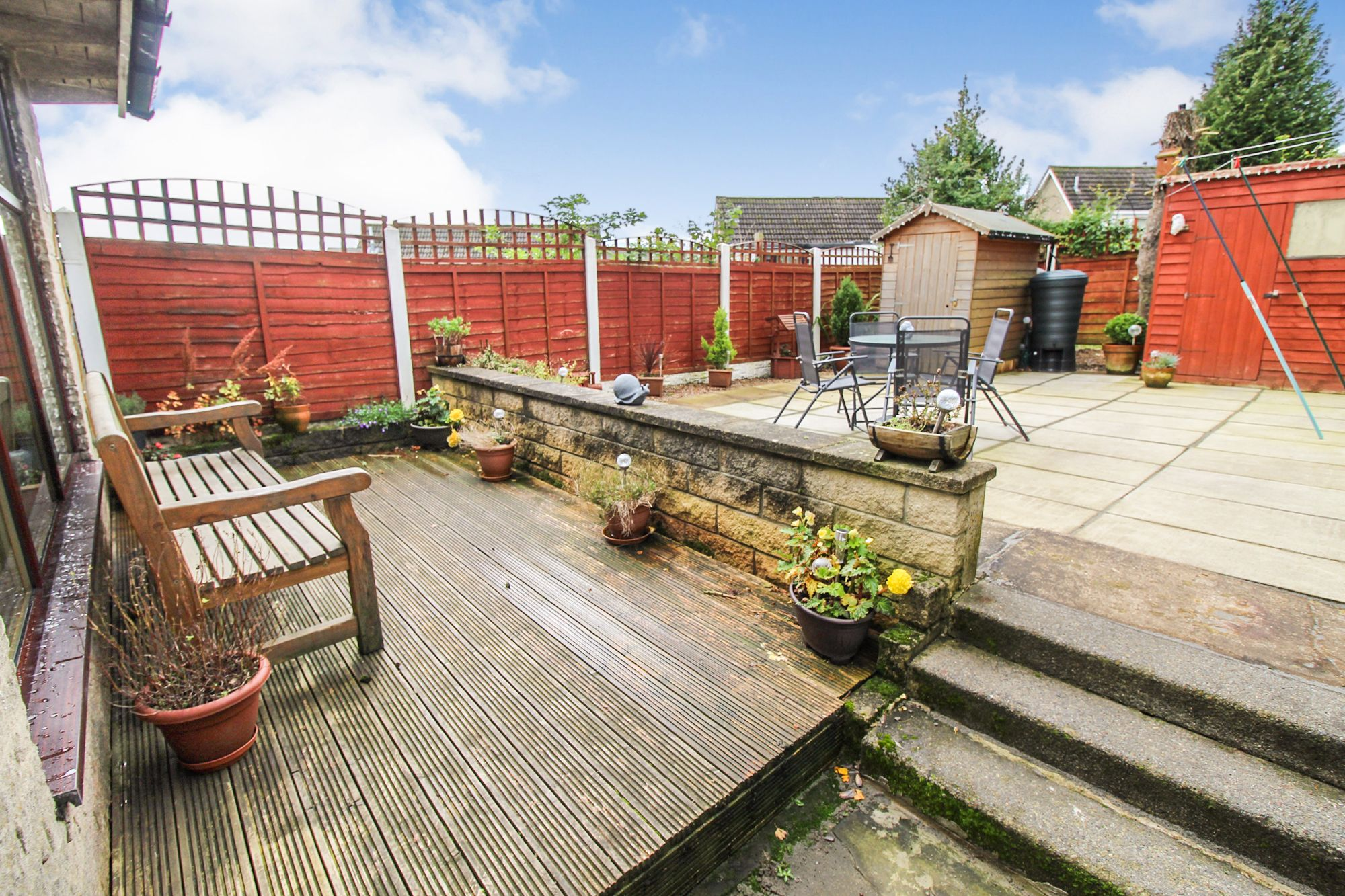 3 bedroom semi-detached house For Sale in Bradford - Rear Elevation
