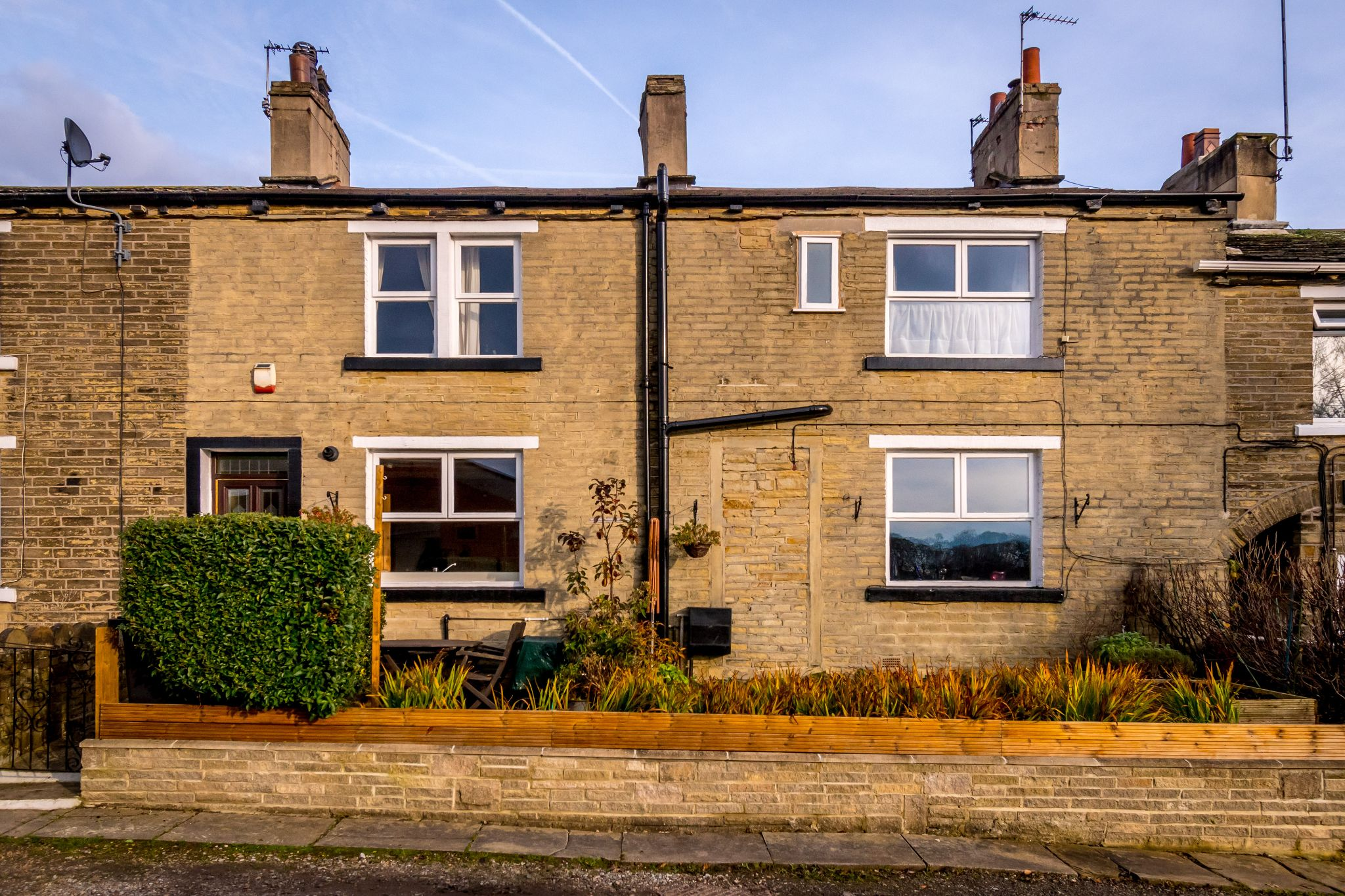 3 bedroom mid terraced house For Sale in Brighouse - Ample parking to the front for two cars