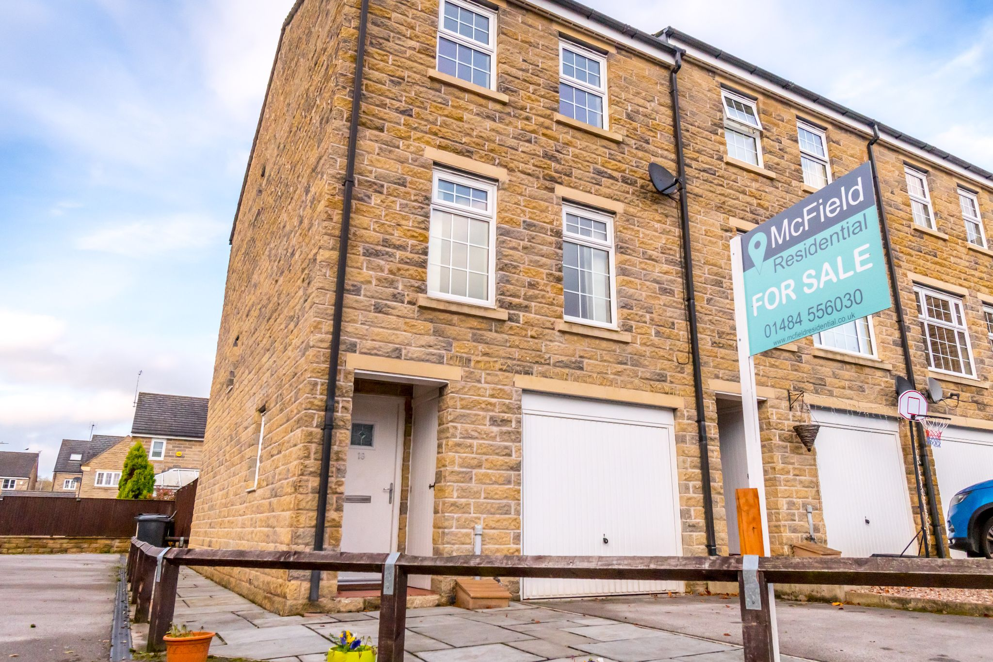 4 bedroom end terraced house SSTC in Brighouse - Front aspect