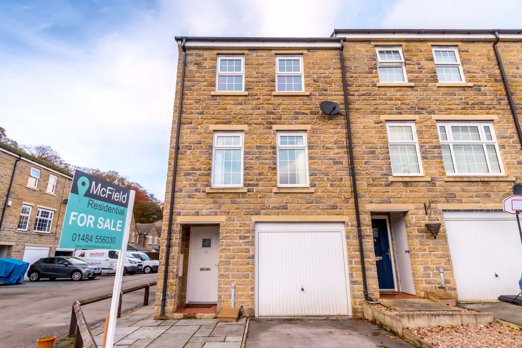 4 bedroom end terraced house For Sale in Brighouse - Front aspect