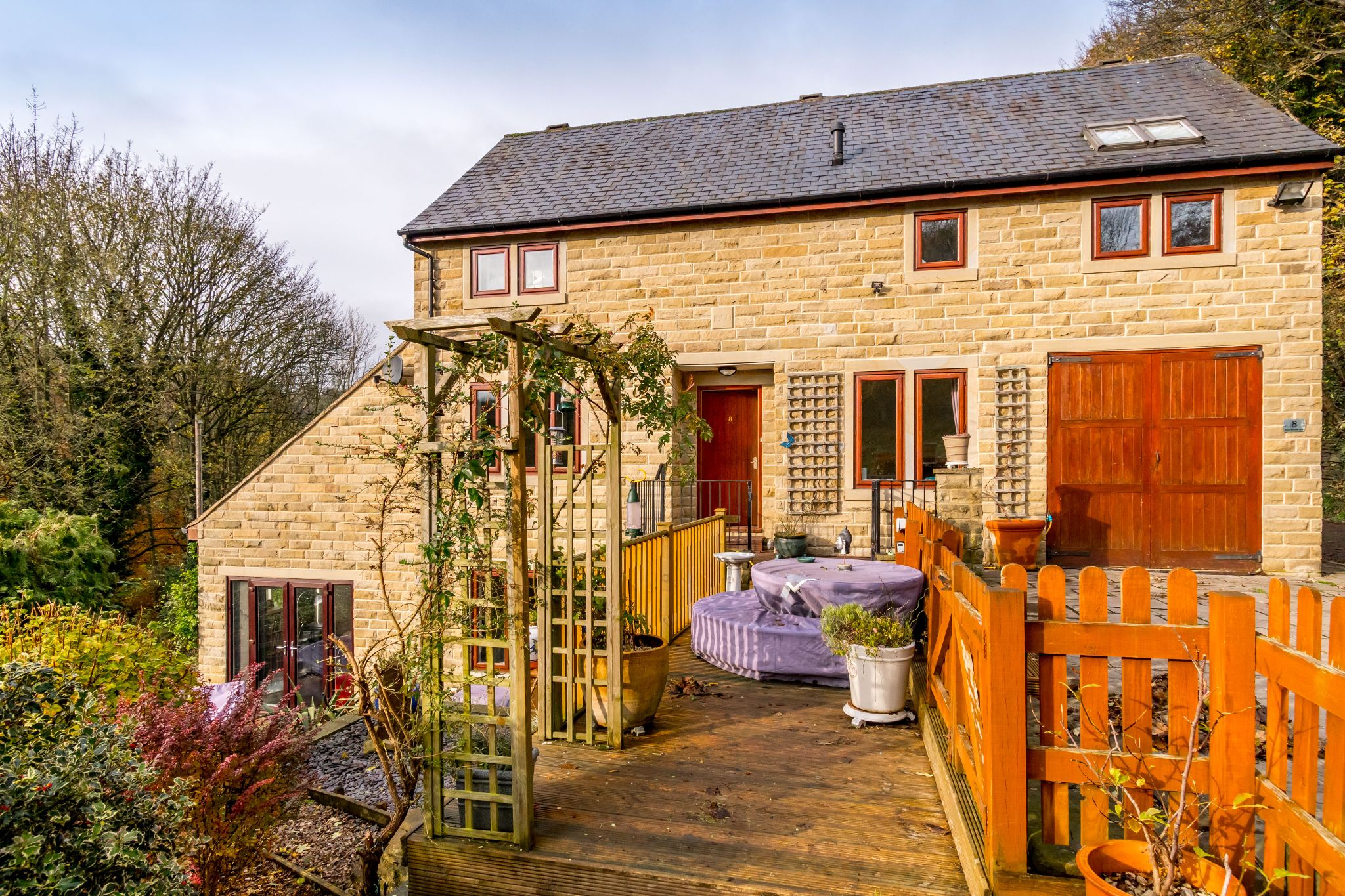 3 bedroom detached house For Sale in Brighouse - Front aspect
