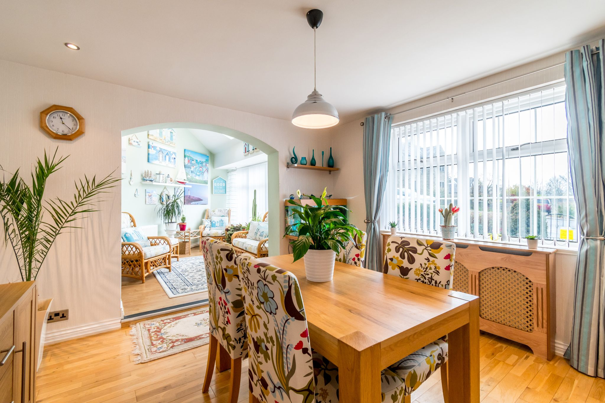 3 bedroom detached bungalow For Sale in Hove Edge - Dining room looking into the sun room