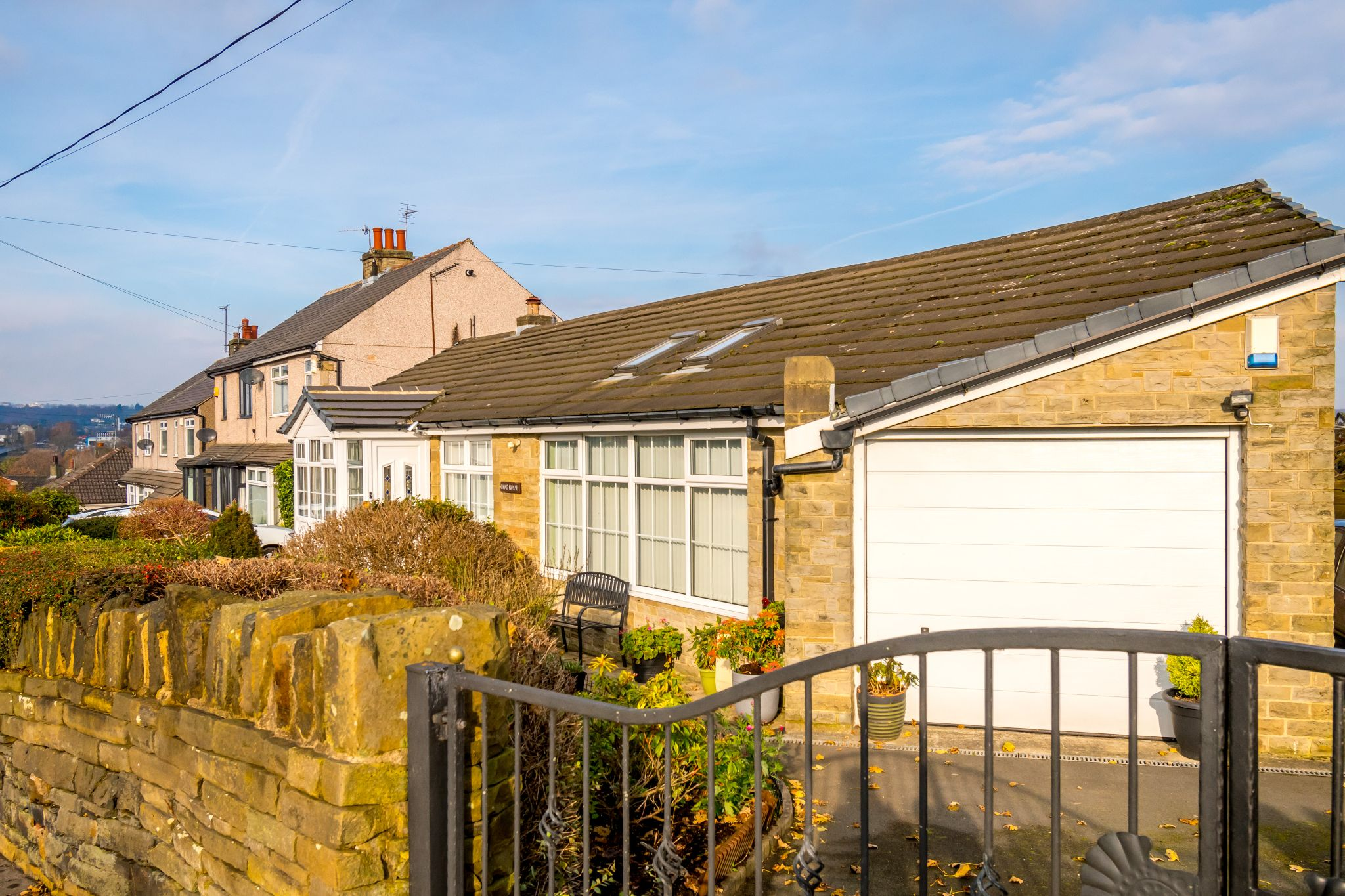 3 bedroom detached bungalow For Sale in Hove Edge - Front drive right hand side