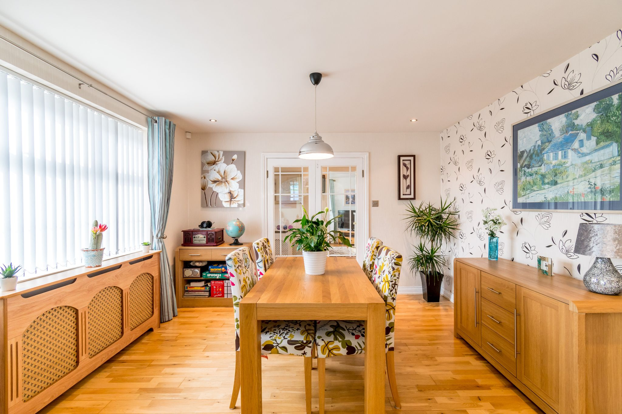 3 bedroom detached bungalow For Sale in Hove Edge - Dining room from the sun room