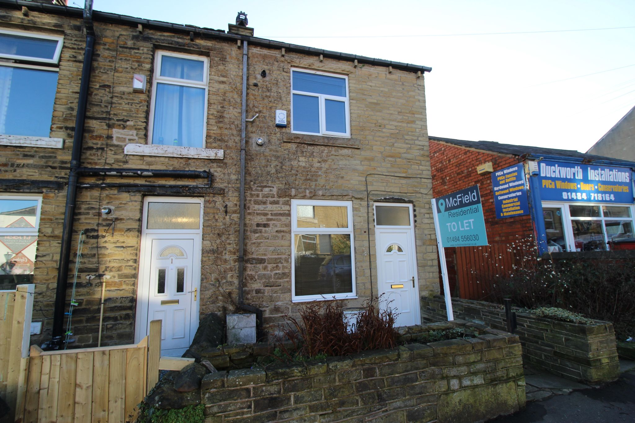 2 bedroom end terraced house Let in Brighouse - Photograph 1
