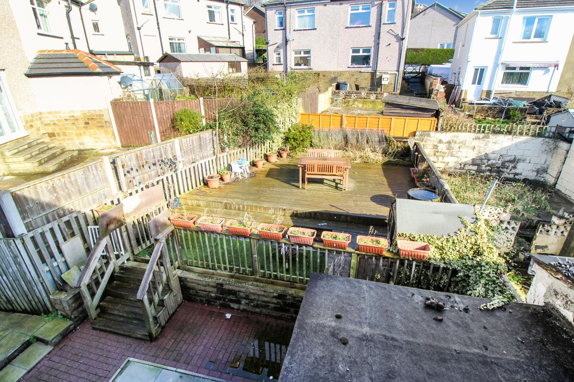 3 bedroom semi-detached house To Let in Shipley - Back Garden