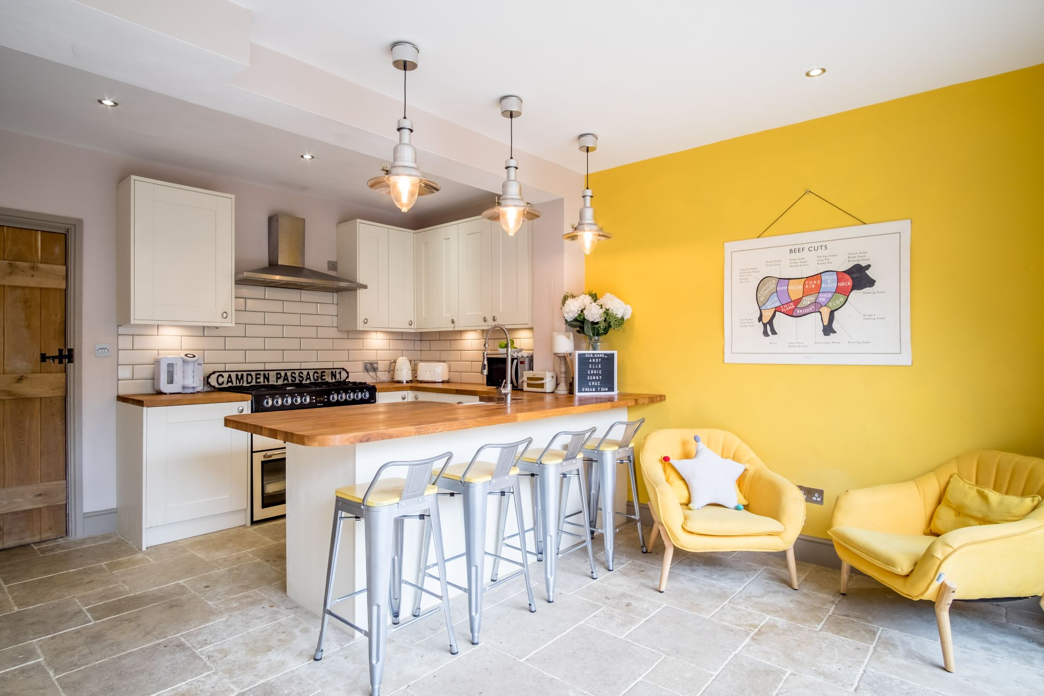 3 bedroom mid terraced house For Sale in Halifax - Kitchen