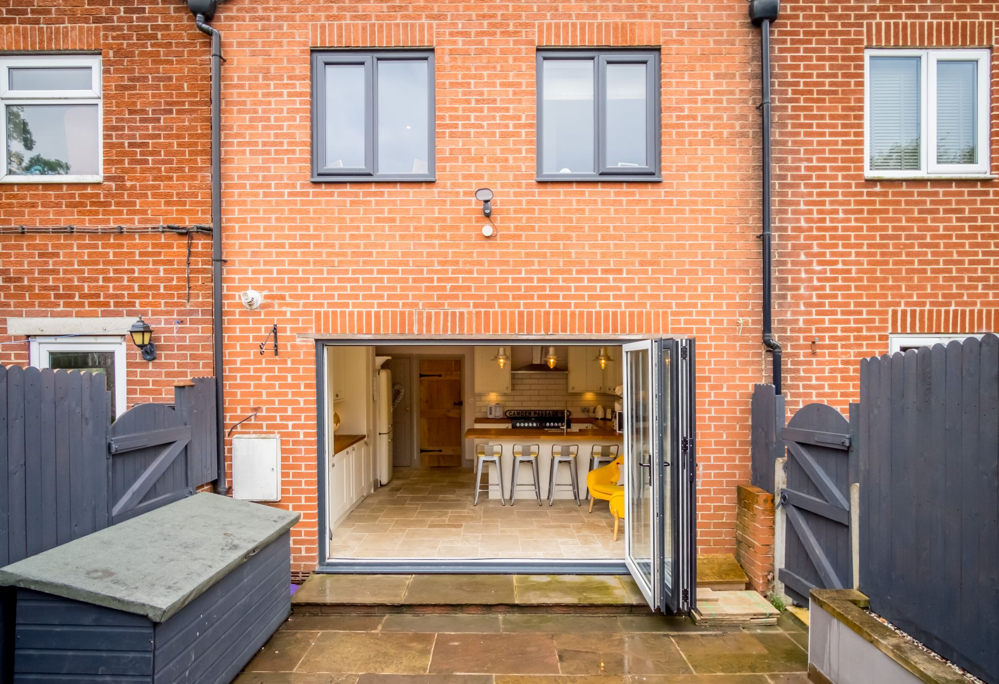 3 bedroom mid terraced house For Sale in Halifax - Rear aspect