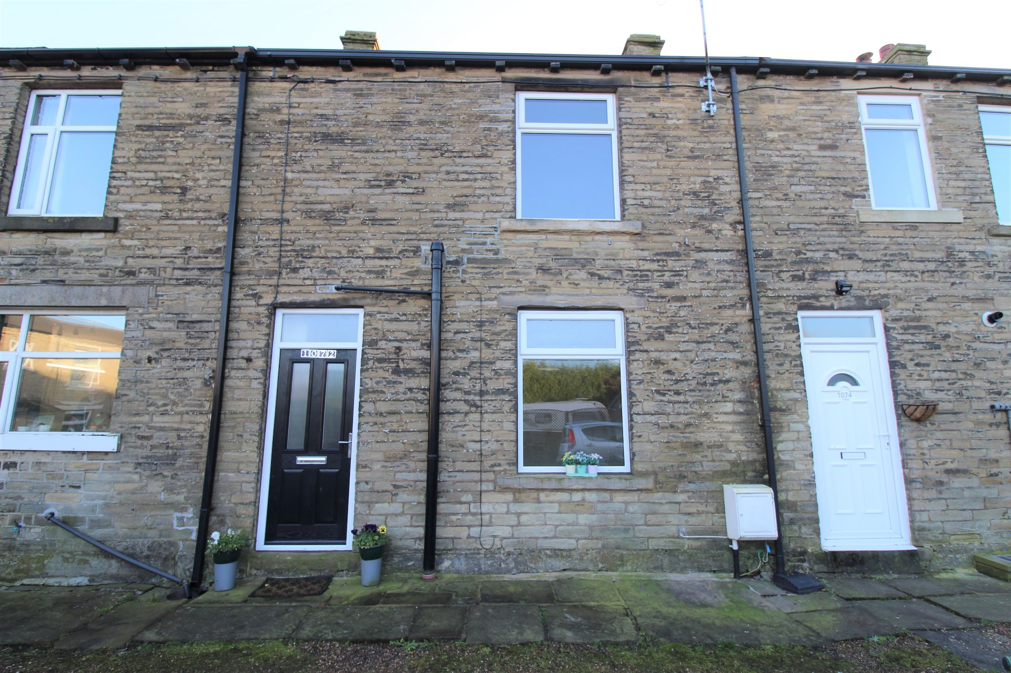 1 bedroom mid terraced house SSTC in Cleckheaton - Front aspect